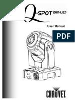 Chauvet Q-Spot 260 LED Manual