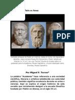 Academia de Platc3b3n en Atenas