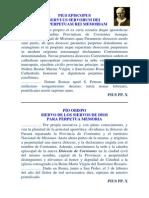 Bula de San Pío X creación Diócesis de CTES-03-02-1910