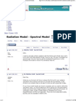 Radiation Model - Spectral Model -- CFD Online Discussion Forums
