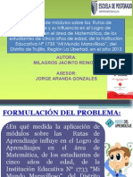 Rutaas de Aprendizajetesismilagrosjacinta2-131025002141-Phpapp01