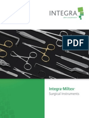 Integra Miltex: Surgical Instruments