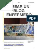 Crear Un Blog Enfermero