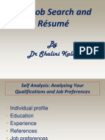 Job Search and Resume