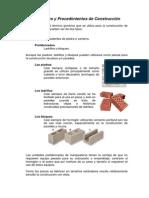 Materiales y Procedimientos de Construcción bloque