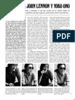 Entrevista Con John Lennon y Yoko Ono-PLAYBOY