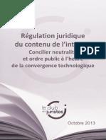 Rapport Commission Numerique Club Des Juristes