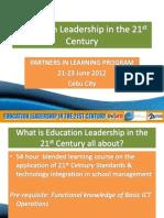Education Leadership Orientation Ppt