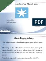 A Presentation on Maersk Line