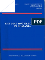 Romania's 1990 Presidential and Parliamentary Elections