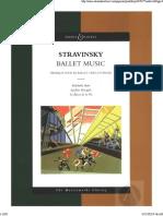 Pulcinella Suite - Stravinsky