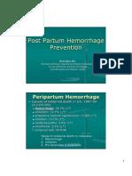 1-Ali Sungkar-Haemorrhagic Post Partum Prevention 080310.Ppt