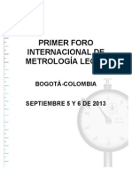 Agenda Metrologia