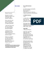 Poezii Si Cantece Pentru Craciun