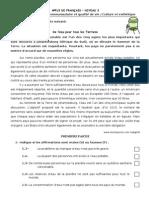 Appui de Français-l'environnement