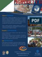 Brochure Bombero I y II 2014