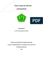 Laporan Bedah Minor Ortopedi