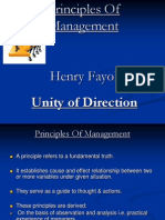 Unity of Direction