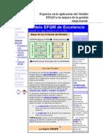 Expertos en la aplicación del Modelo EFQM a la mejora de la gestión empresarial