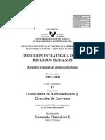 Apuntes Direccion Estrategica Empresa II Rrhh