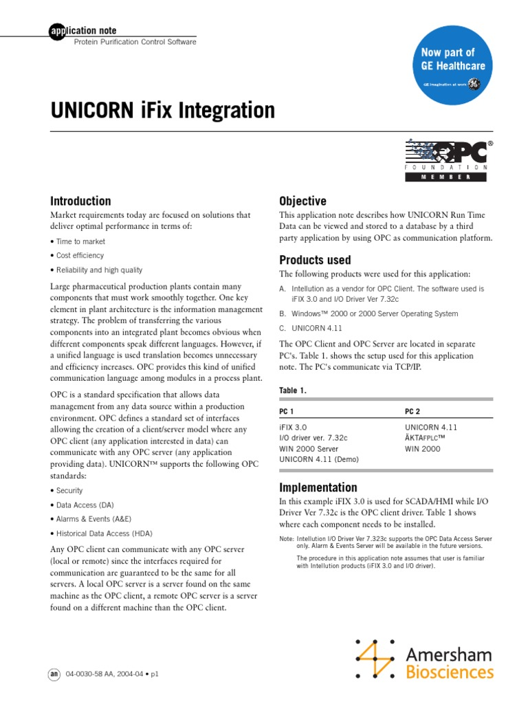 Infoplc Net Configuracion Opc en Ifix (1)   Scada   Databases