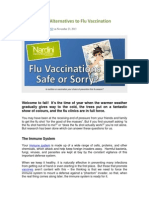 Naturopathic Alternatives to Flu Vaccination