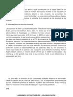 La Dinamica Estructural de La Globalizacion- Rocha