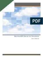 MatrikonOPC Simulation UserManual