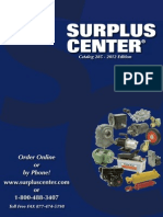 Surplus Center Catalog 2012