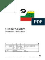 Manuel Geostab 2009