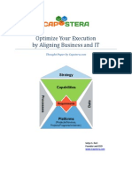 optimize your execution by aligning business and it