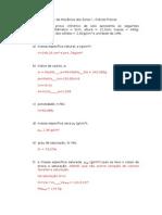 Lista 1 - Indices Fisicos Com Respostas