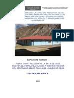 Expediente Completo Centro Salud Quichuas Huancavelica