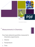 1. Measurements in Chemistry