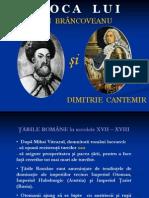Constantin Brancoveanu Si Dimitrie Cantemir