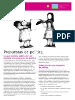 ILC. Propuestas de Politicas