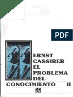 54724815 Ernst Cassirer El Problema Del Conocimiento II