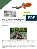 Mais 75 médicos cubanos chegam à Paraíba nesta segunda e serão recepcionados por ministro