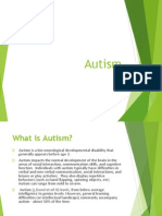 Autism Basics PPT