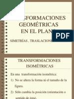 Transformaciones geometricas en el plano.pps