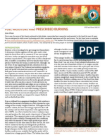Fuel Moisture and Prescribed Burning