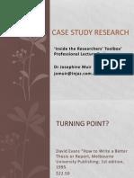 Seminar-Lecture 4 Case Study Research June2011