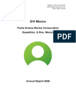 GVI Pta Gruesa 2008 Annual Science Report