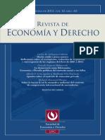 Revista de Economía y Derecho 40