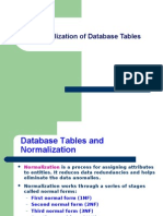 18181662 Normalization of Database Tables