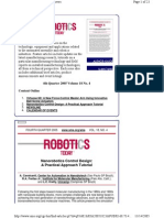 Nano Robotic Tutorial