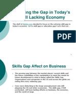 Skills Gap Help Wanted