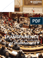 Rapport Transparency France 2013