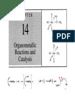 Organemetallic Reactions and Catalysis (14)