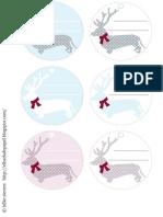 Etiquetas Navidad Regalo Geschenke Present Christmas Free Download Gratuito Imprimible Weihnachten Tags